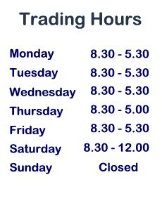 Hours of Trading